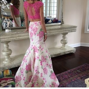 Sherri Hill Two Piece Prom Gown
